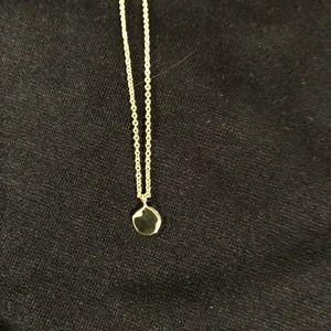 Gorjana silver charm necklace